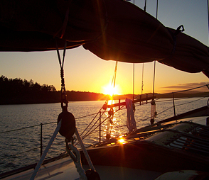 Sunset cruise on Spike Africa