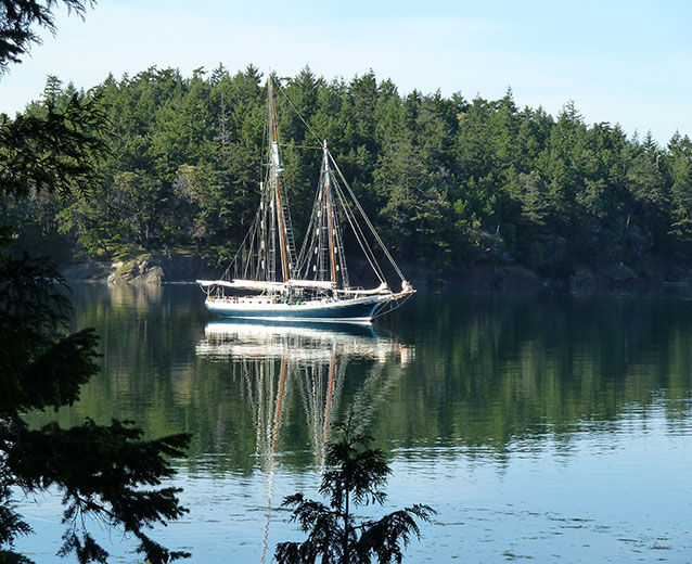 Private charters schooners north san juan sail charter for San juan island fishing charters