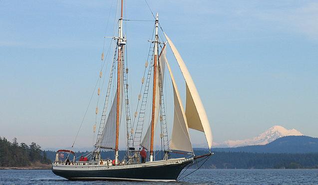 Hoisting sails on Spike Africa