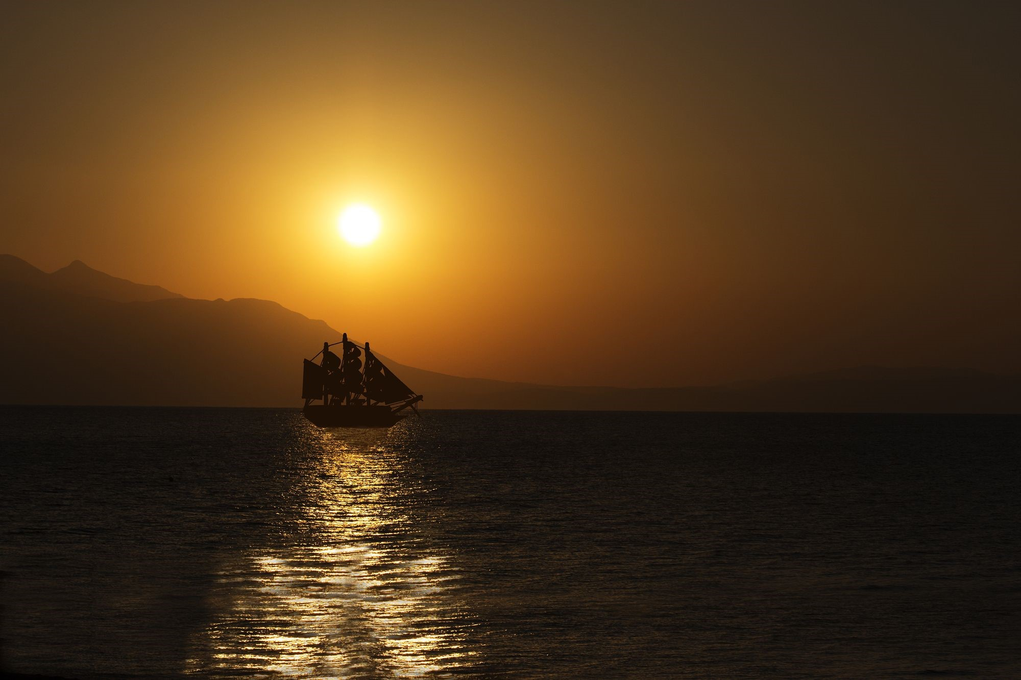 A Classic Schooner Makes an Ideal Vessel for a Burial at Sea Ceremony