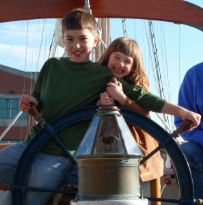 Kids Can Learn the Art of Sailing on a San Juan Islands Yacht Charter